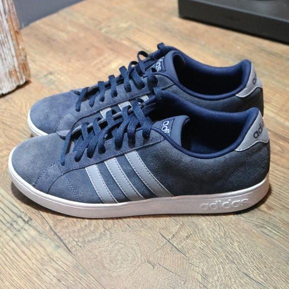 Adidas Neo Shoes Blue Men's Size 11